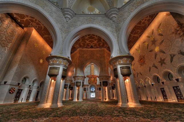 Abu Mosque Interior