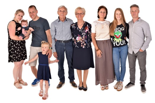 Familie foto Mannens