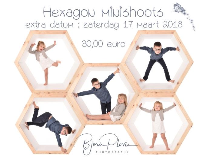 reclame hexagon 17 maart