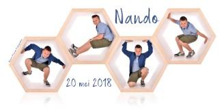 Bedankt Nando