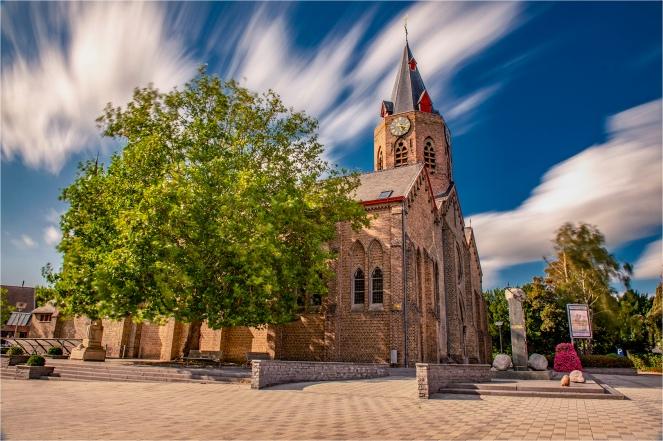 Kerk Eernegem.Bjorn Plovie