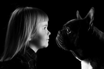 samen zwart-wit